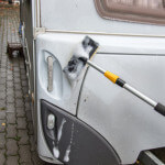 Die richtige Reinigung des Wohnwagens oder Wohnmobils